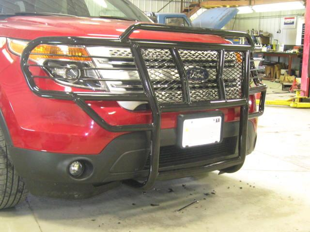 Current Ford Explorer Rare Mid Sized on 1994 Dodge Dakota Grill Guard